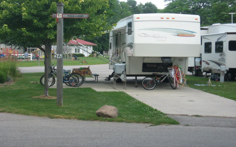 Camping in Frankenmuth
