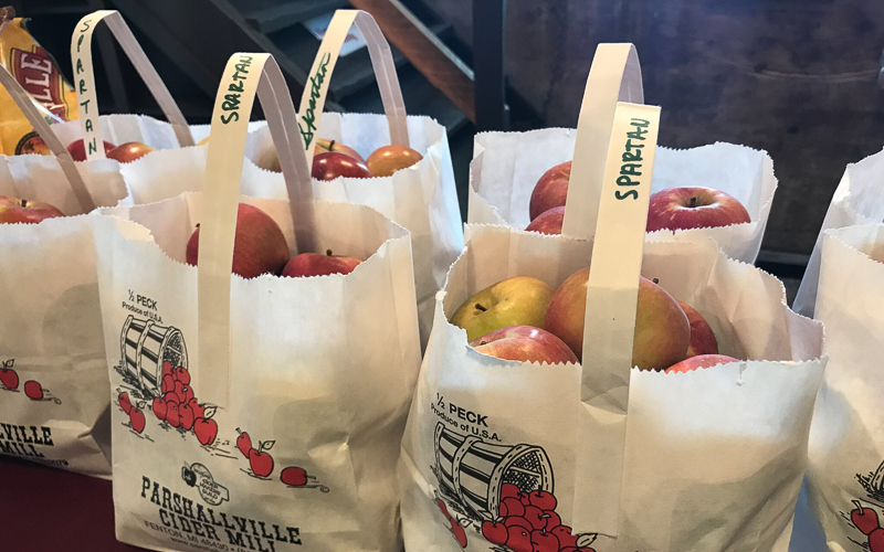 Apples & Cider in the Brighton-Howell Area